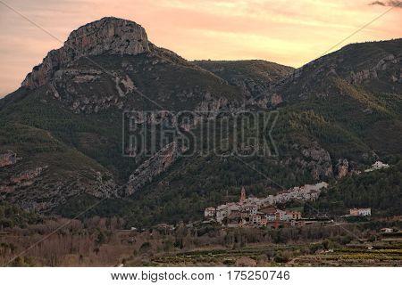 Around the village of Toga in Castellon