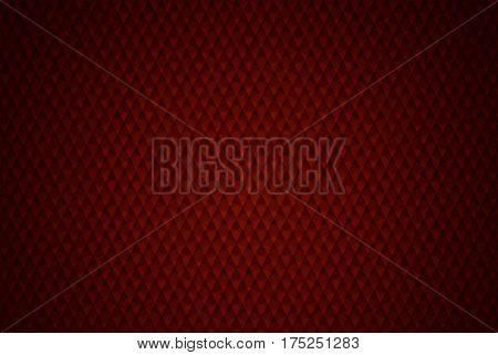Elegant Red Geometric Background Illustration. Burgundy Red Geometric Pattern.