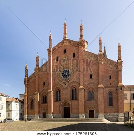 Pavia, Church Of Santa Maria Del Carmine