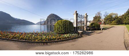 Lugano, Parco Ciani, City Garden