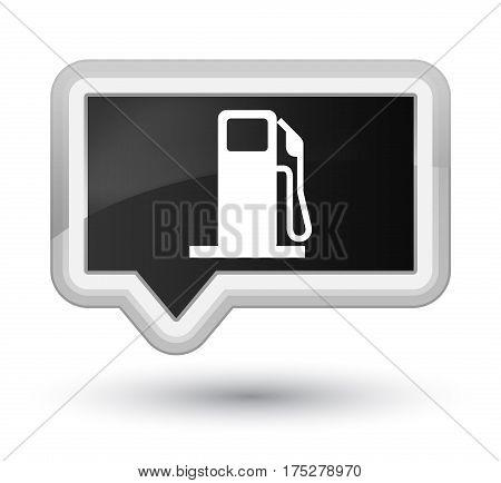 Fuel Dispenser Icon Prime Black Banner Button