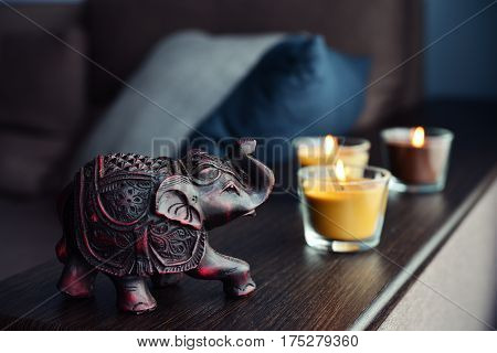 Handcrafted Indian Elephant
