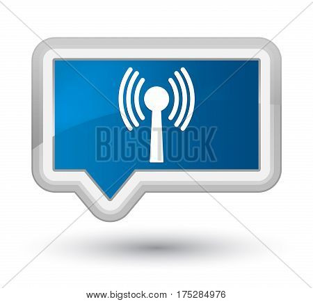 Wlan Network Icon Prime Blue Banner Button