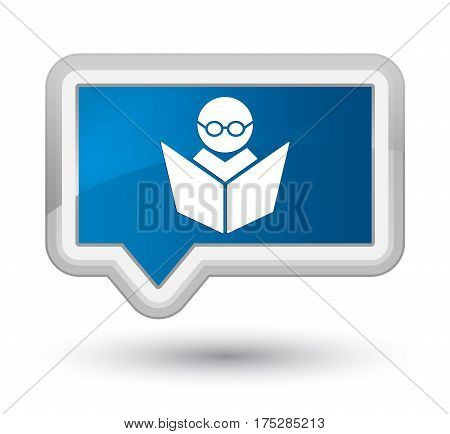 Elearning Icon Prime Blue Banner Button