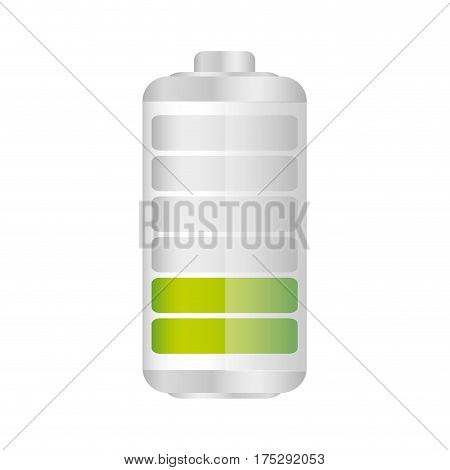 battery in thirty percent icon, vector illustraction design