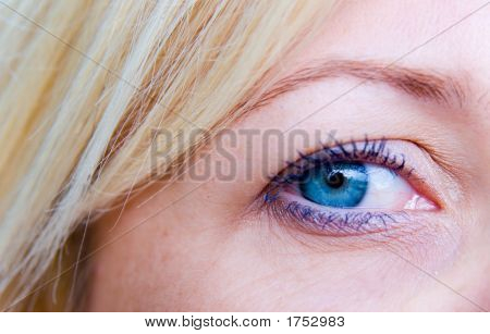 Open Blue Eye