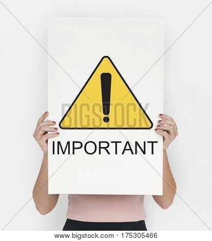 Important Caution Attention Alert Risk Stop