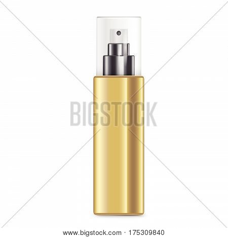 Cosmetic Golden Spray Bottle