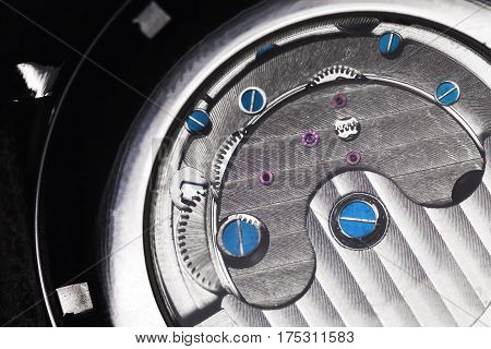 Mechanical Watch With Automatic Winding