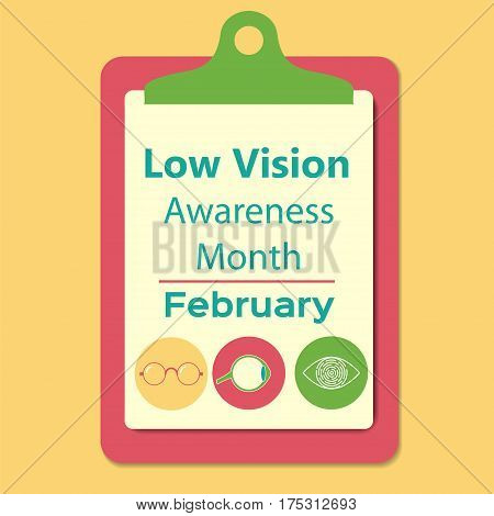Healthy Vision Awareness Sign