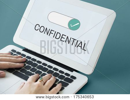 Confidential Personal Privacy Quiet Trusty