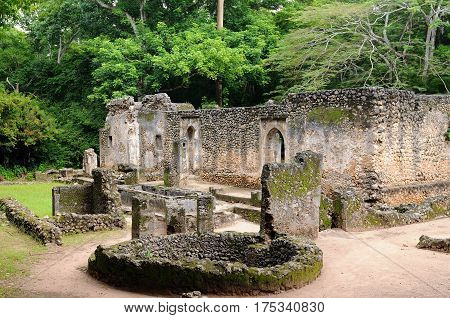 Kenya Gede ruins are the remains of a Swahili town located in Gedi a village near the coastal town of Malindi. The great mosque