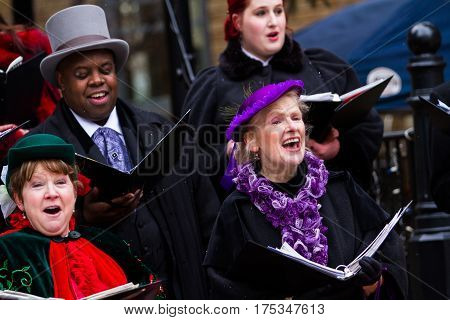 Holiday Carolers