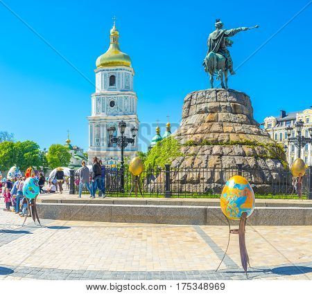 The Easter Holiday In Kiev