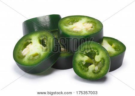 Green Serrano Chile Rings, Paths