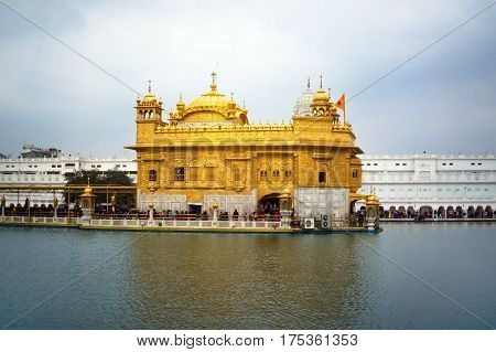 Golden Temple Harmandir Sahib, in Amritsar Punjab,