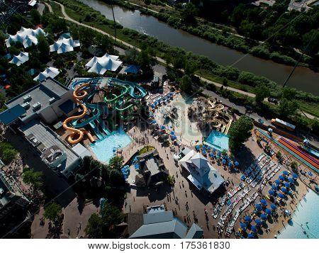 Aerial View Of Denver