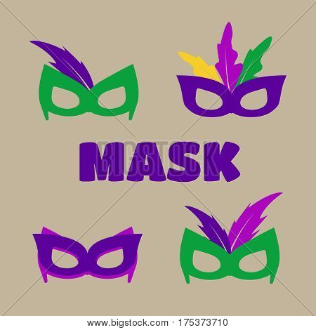 Mardi gras mask vector mardi gras masks vector