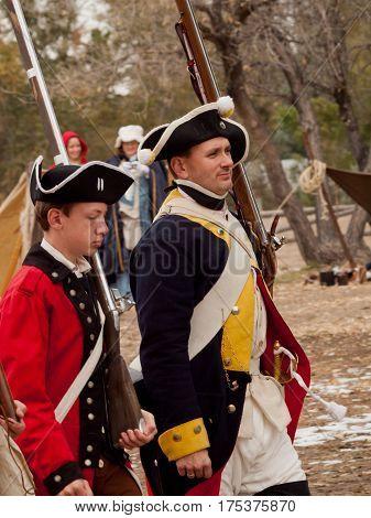 Revolutionary War Reenactment