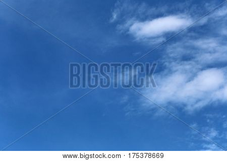 blue sky in the daytime for design nature background.