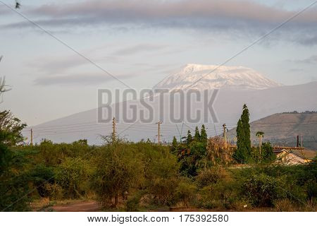 Roof Of Africa - Kilimanjaro, Kibo Mountain