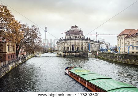 Museum Island And River Spree, Berlin