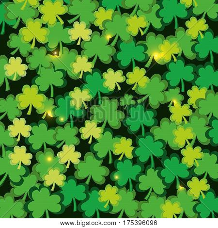 clover patrick's day icon image, vector illustration
