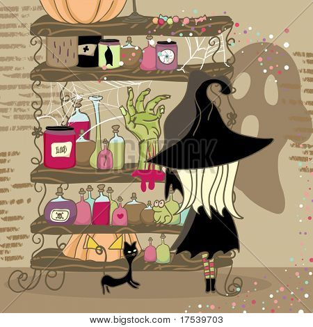 spooky shelf