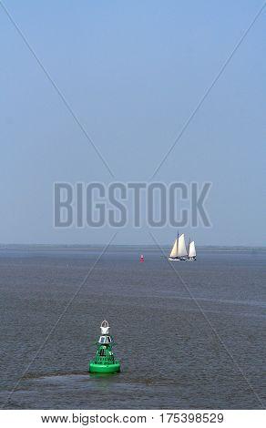 Sailing On The Wadden Sea