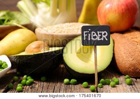 selection food higt fiber