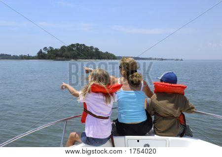 Kids Boat Left