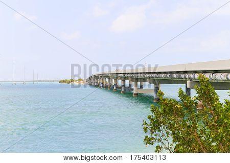 The Overseas Highway In The Keys