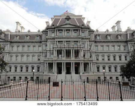 Old Eisenhower Executive Office Building - Washington DC