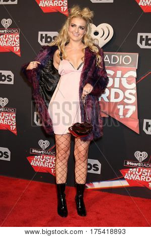 LOS ANGELES - MAR 5:  Rydel Lynch at the 2017 iHeart Music Awards at Forum on March 5, 2017 in Los Angeles, CA