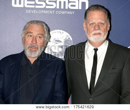 Palm Springs - JAN 15: Robert DeNiro, Taylor Hackford at the Palm Springs International Film Festival