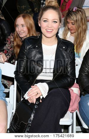 LOS ANGELES - FEB 4:  Erika Christensen at the Rebecca Minkoff's