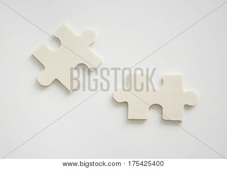 Jig Saw Puzzle Pieces Shape