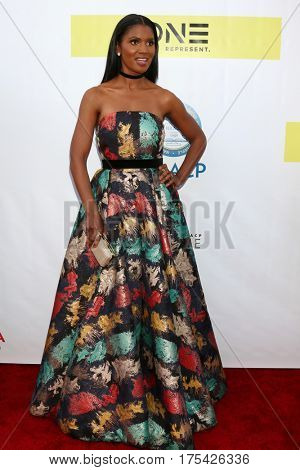 LOS ANGELES - FEB 11:  Denise Boutte at the 48th NAACP Image Awards Arrivals at Pasadena Conference Center on February 11, 2017 in Pasadena, CA