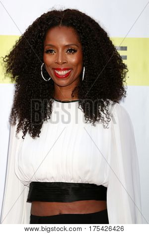 LOS ANGELES - FEB 11:  Tasha Smith at the 48th NAACP Image Awards Arrivals at Pasadena Conference Center on February 11, 2017 in Pasadena, CA