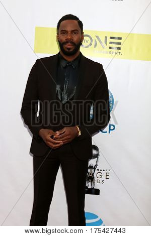 LOS ANGELES - FEB 11:  Colman Domingo at the 48th NAACP Image Awards Arrivals at Pasadena Conference Center on February 11, 2017 in Pasadena, CA