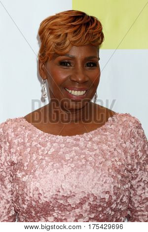 LOS ANGELES - FEB 11:  Iyanla Vanzant at the 48th NAACP Image Awards Arrivals at Pasadena Civic Auditorium on February 11, 2017 in Pasadena, CA