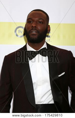 LOS ANGELES - FEB 11:  Kofi Siriboe at the 48th NAACP Image Awards Arrivals at Pasadena Civic Auditorium on February 11, 2017 in Pasadena, CA