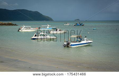 Seascape Of Con Dao Island, Vietnam