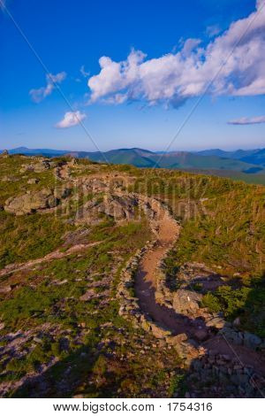 Franconia Ridge Trail White Mountains New Hampshire poster