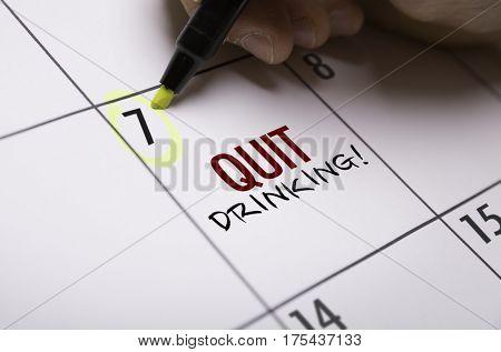 Quit Drinking!