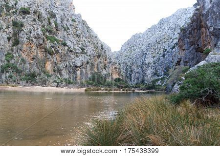 Canyon Torrent de Pareis in Majorca Spain