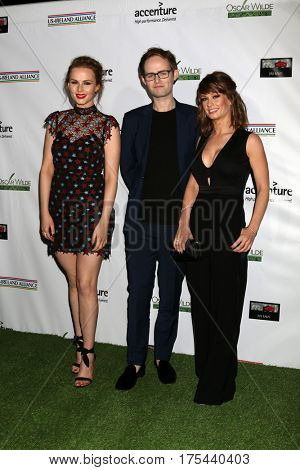 LOS ANGELES - FEB 23:  The Rua, Roseanna Brown, Jonathan Brown, Alanna Brown at the 12th Annual Oscar Wilde Awards at Bad Robot Studios on February 23, 2017 in Santa Monica, CA