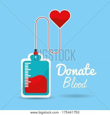 blood donation days icon image, vector illustration design