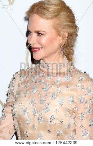 LOS ANGELES - JAN 28:  Nicole Kidman at the 2017 Producers Guild Awards  at Beverly Hilton Hotel on January 28, 2017 in Beverly Hills, CA