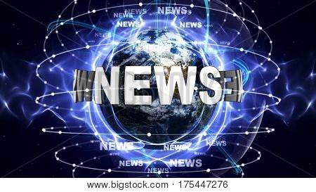 NEWS Text Around the World, Computer Graphics